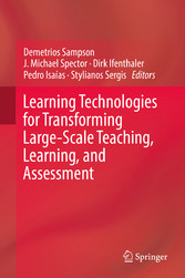 Learning Technologies for Transforming Large-Scale Teaching, Learning, and Assessment