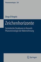 Zeichenhorizonte Semiotische Strukturen in Husserls Phänomenologie der Wahrnehmung