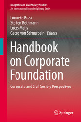 Handbook on Corporate Foundation Corporate and Civil Society Perspectives