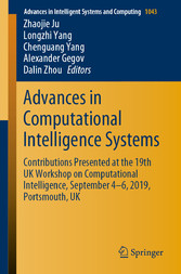 Advances in Computational Intelligence Systems Contributions Presented at the 19th UK Workshop on Computational Intelligence, September 4-6, 2019, Portsmouth, UK