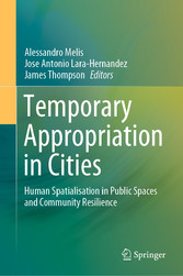 Temporary Appropriation in Cities Human Spatialisation in Public Spaces and Community Resilience