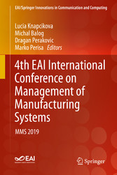 4th EAI International Conference on Management of Manufacturing Systems MMS 2019