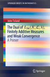 The Dual of L(X,L,), Finitely Additive Measures and Weak Convergence A Primer