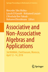 Associative and Non-Associative Algebras and Applications 3rd MAMAA, Chefchaouen, Morocco, April 12-14, 2018