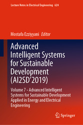 Advanced Intelligent Systems for Sustainable Development (AI2SD'2019) Volume 7-  Advanced Intelligent Systems for Sustainable Development Applied in  Energy and Electrical Engineering