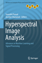 Hyperspectral Image Analysis Advances in Machine Learning and Signal Processing