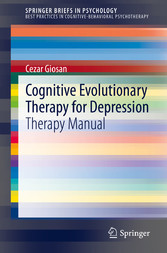 Cognitive Evolutionary Therapy for Depression Therapy Manual