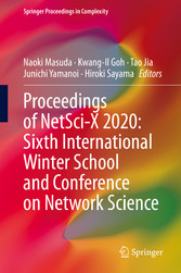 Proceedings of NetSci-X 2020: Sixth International Winter School and Conference on Network Science