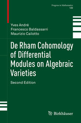 De Rham Cohomology of Differential Modules on Algebraic Varieties