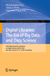 Digital Libraries: The Era of Big Data and Data Science 16th Italian Research Conference on Digital Libraries, IRCDL 2020, Bari, Italy, January 30-31, 2020, Proceedings