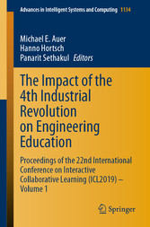 The Impact of the 4th Industrial Revolution on Engineering Education Proceedings of the 22nd International Conference on Interactive Collaborative Learning (ICL2019) - Volume 1