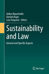 Sustainability and Law General and Specific Aspects