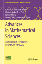 Advances in Mathematical Sciences AWM Research Symposium, Houston, TX, April 2019