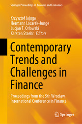 Contemporary Trends and Challenges in Finance Proceedings from the 5th Wroclaw International Conference in Finance