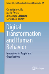 Digital Transformation and Human Behavior Innovation for People and Organisations