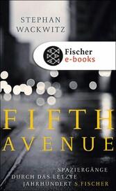 Fifth Avenue Spaziergänge durch das letzte Jahrhundert