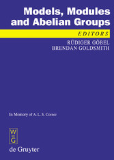 Models, Modules and Abelian Groups In Memory of A. L. S. Corner
