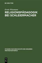 Religionspädagogik bei Schleiermacher