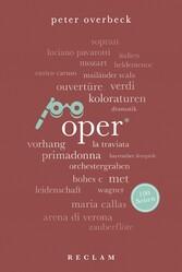 Oper. 100 Seiten Reclam 100 Seiten