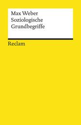 Soziologische Grundbegriffe Reclams Universal-Bibliothek