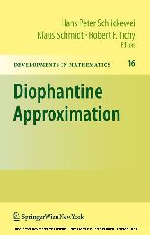 Diophantine Approximation Festschrift for Wolfgang Schmidt