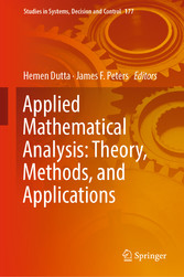 Applied Mathematical Analysis: Theory, Methods, and Applications