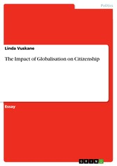 The Impact of Globalisation on Citizenship
