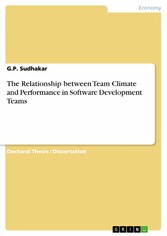 The Relationship between Team Climate and Performance in Software Development Teams