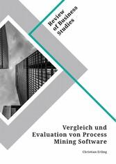 Vergleich und Evaluation von Process Mining Software