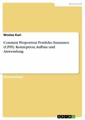 Constant Proportion Portfolio Insurance (CPPI). Konzeption, Aufbau und Anwendung