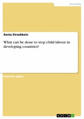 What can be done to stop child labour in developing countries?