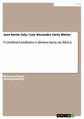 Constitucionalismo e democracia na  África