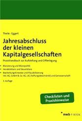 Jahresabschluss der kleinen Kapitalgesellschaften & Co. KG, UG (haftungsbeschränkt) und Genossenschaft.