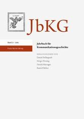 Jahrbuch für Kommunikationsgeschichte 21 (2019)