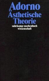 Gesammelte Schriften in 20 Bänden Band 7: Ästhetische Theorie