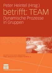 betrifft: TEAM Dynamische Prozesse in Gruppen