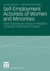 Self-Employment Activities of Women and Minorities Their Success or Failure in Relation to Social Citizenship Policies