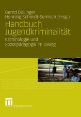 Handbuch Jugendkriminalität Kriminologie und Sozialpädagogik im Dialog