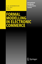 Formal Modelling in Electronic Commerce