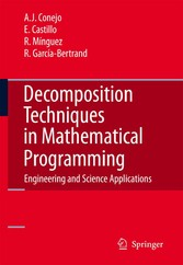 Decomposition Techniques in Mathematical Programming Engineering and Science Applications