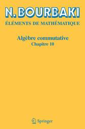 Algèbre commutative Chapitre 10