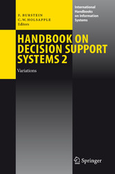 Handbook on Decision Support Systems 2 Variations