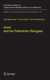 Israel and the Palestinian Refugees
