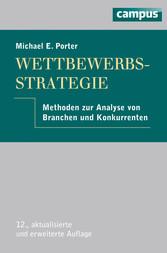 Wettbewerbsstrategie Methoden zur Analyse von Branchen und Konkurrenten