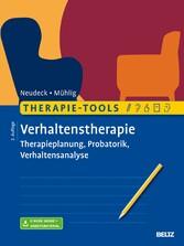 Therapie-Tools Verhaltenstherapie Therapieplanung, Probatorik, Verhaltensanalyse. Mit E-Book inside und Arbeitsmaterial