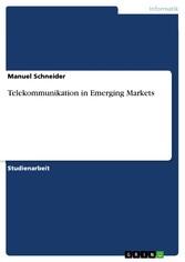 Telekommunikation in Emerging Markets