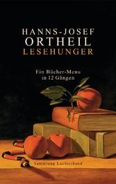Lesehunger - Ein Bücher-Menu in 12 Gängen Ein Bücher-Menu in 12 Gängen
