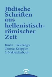 3. Makkabäerbuch Band I: Historische und legendarische Erzählungen, Lieferung 9