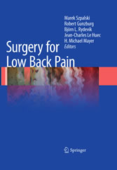 Surgery for Low Back Pain