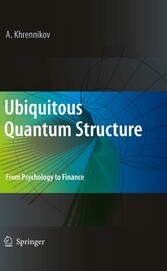 Ubiquitous Quantum Structure From Psychology to Finance